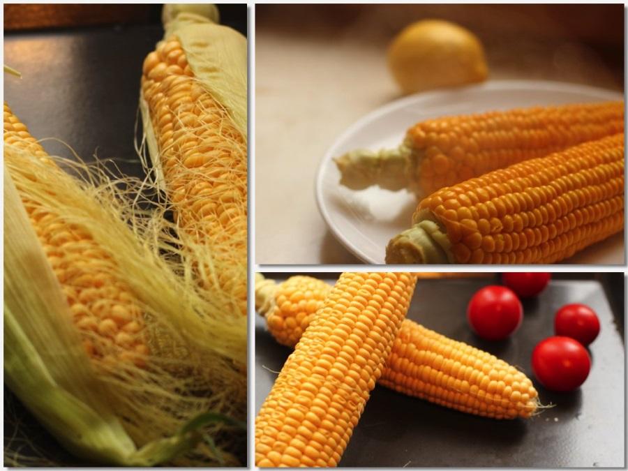Приготовление пряных кукурузных оладий с зеленью и специями