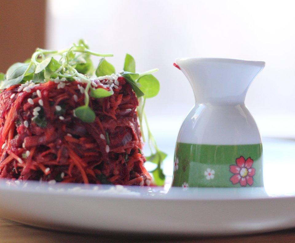 """Овощная башня или """"Такие прекрасные зимние салаты""""!"""