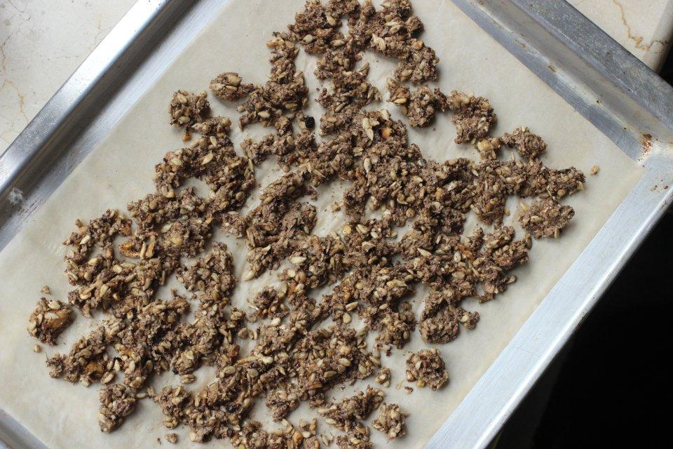 Сальса из свежих овощей с запеченым грибным чили