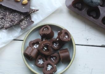 Кунжутное пралине или для тех, кто любит шоколад