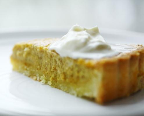 Тыквенно-ореховый тарт благодарности