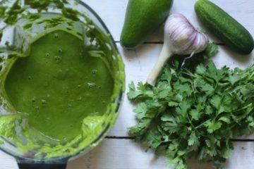 Зеленый лечебный коктейль для веселых новогодних праздников