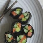 Роллы с авокадо и неркой и о водорослях