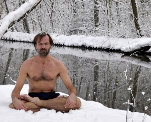 Зимняя экспедиция Вим Хофа